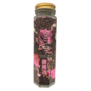 うれしの薔薇茶ボトル